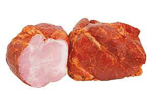 Продукт фирменный из свинины Ветчина «Крестьянская» копчено-вареная