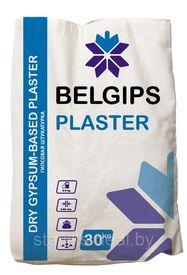 Штукатурка гипсовая защитно-отделочная белая PLASTER Белгипс 30 кг