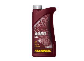 Масло для триммера 2 тактное MANNOL Agro 1000мл синтетическое