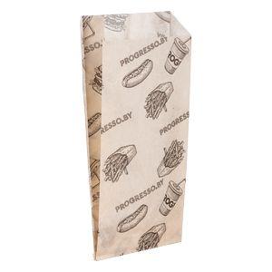 Бумажные пакеты с клиновидным дном