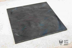 Чугунная плитка Бумага