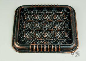Декоративная вентиляционная решетка Кольца