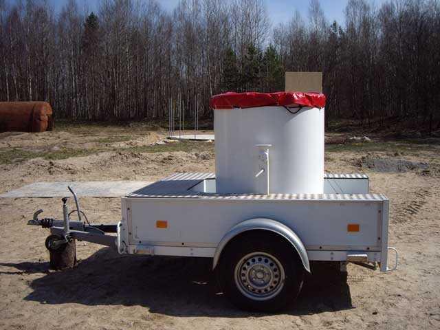 Специальное транспортное средство для перевозки взрывных устройств 1002 BF
