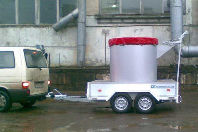 Контейнер для транспортировки взрывоопасных предметов 1001 BF