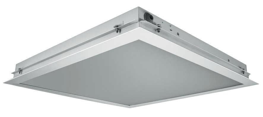 Светильники ДВО12-03 IP54 светодиодный встраиваемый