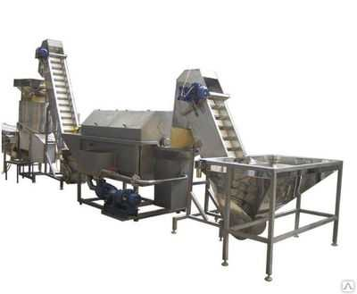 Линия производства сухого картофельного пюре