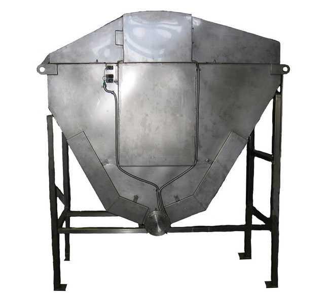 Печь обжарочная с подъемником
