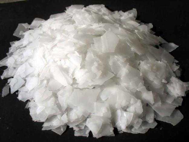 Сода каустическая гранулированная (натр едкий), мешок 25 кг (Россия)