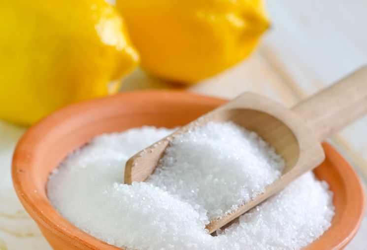 Лимонная кислота, мешок 25 кг (Китай)
