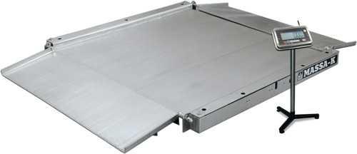 Низкопрофильные весы 4D-LA.S с платформой из нержавеющей стали