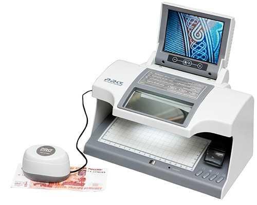 Многофункциональный просмотровый детектор валют PRO CL-16 IR LCD