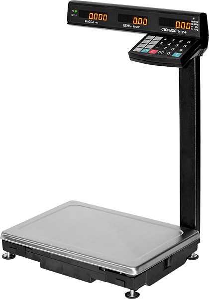 Весы торговые МК-ТВ с верхним расположением клавиатуры