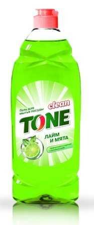 Гель для мытья посуды Clean TONE 675 мл