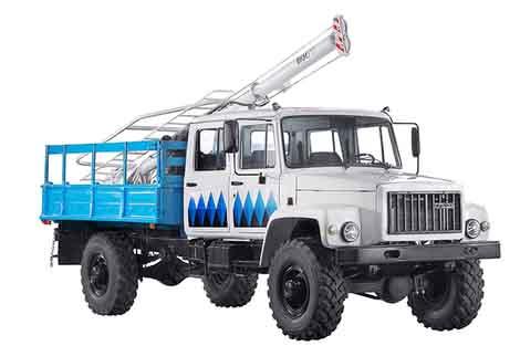 Бурильно-крановая машина БКМ-317 / БКМ-318