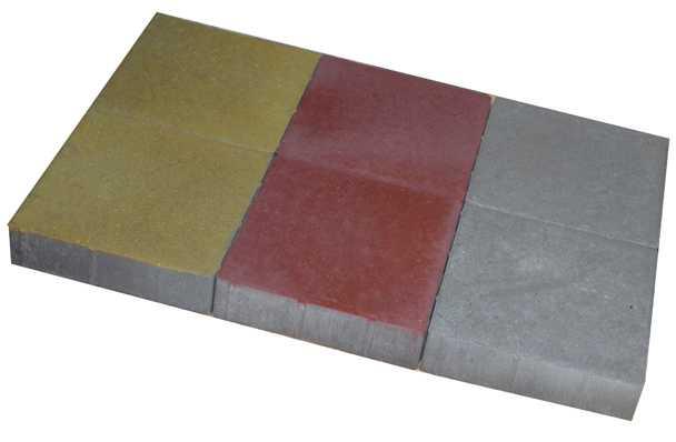 Плитка тротуарная 300×300×80 мм (цвет серый) - ЗАВОД КЕРАМЗИТОВОГО ГРАВИЯ