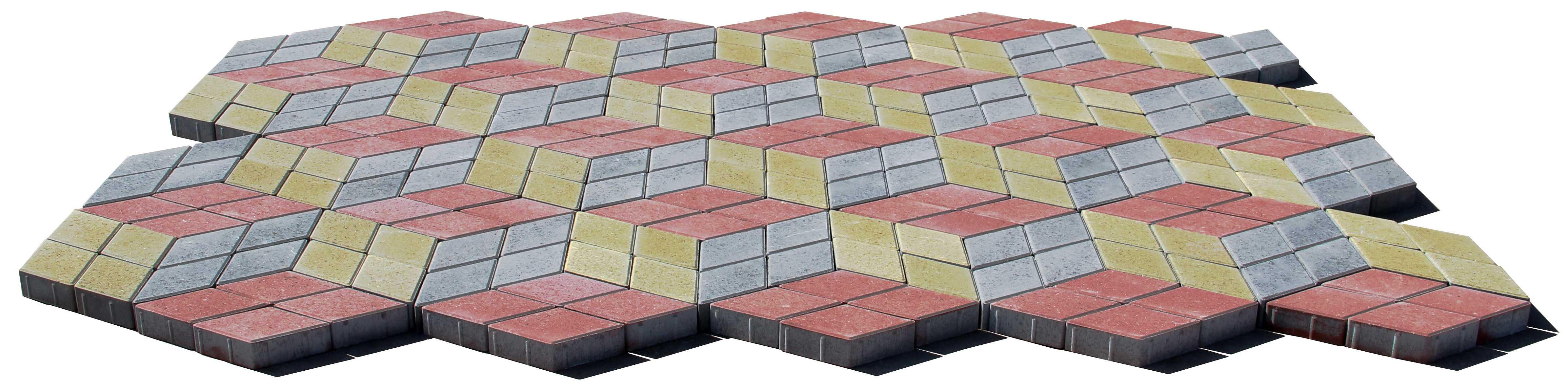 Плитка тротуарная 255×152×60 мм (цвет серый) - ЗАВОД КЕРАМЗИТОВОГО ГРАВИЯ