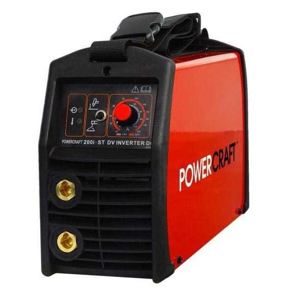 Источники для ручной дуговой сварки PowerCRAFT 200i-ST DV