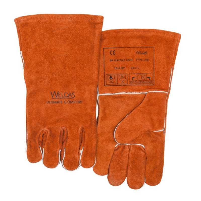 Перчатки сварочные Weldas 10-2101