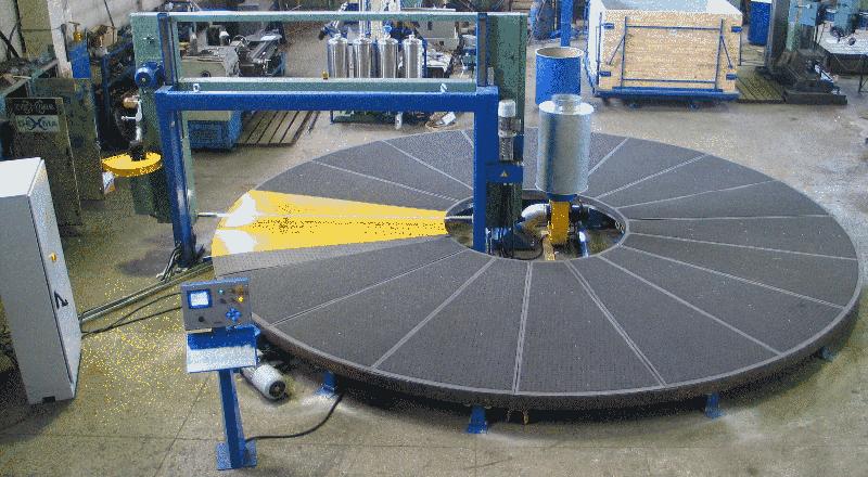 Карусельная машина горизонтальной резки ППУ, Резательное оборудование