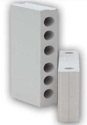 Блоки силикатные строительные для перегородок (СТБ 1228) 500х250х88