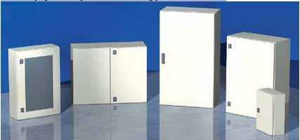 Металлические корпуса серии ST линейки навесных шкафов 'RAM block'