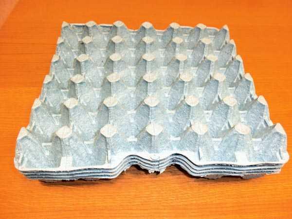 Прокладка бугорчатая для упаковки яиц Тип 15 Lbs