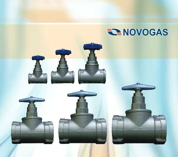Клапаны воды муфтовые запорные Ду-25, Ду-50