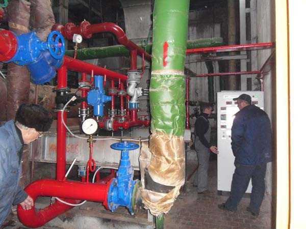 Струйные подогреватели (ПВС) системы горячего водоснабжения