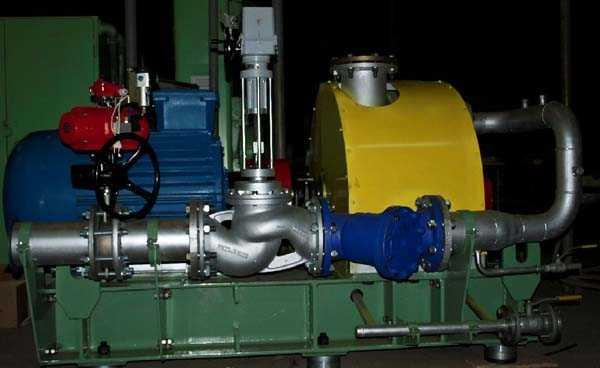 Паровые турбины малой мощности (ПТУ)