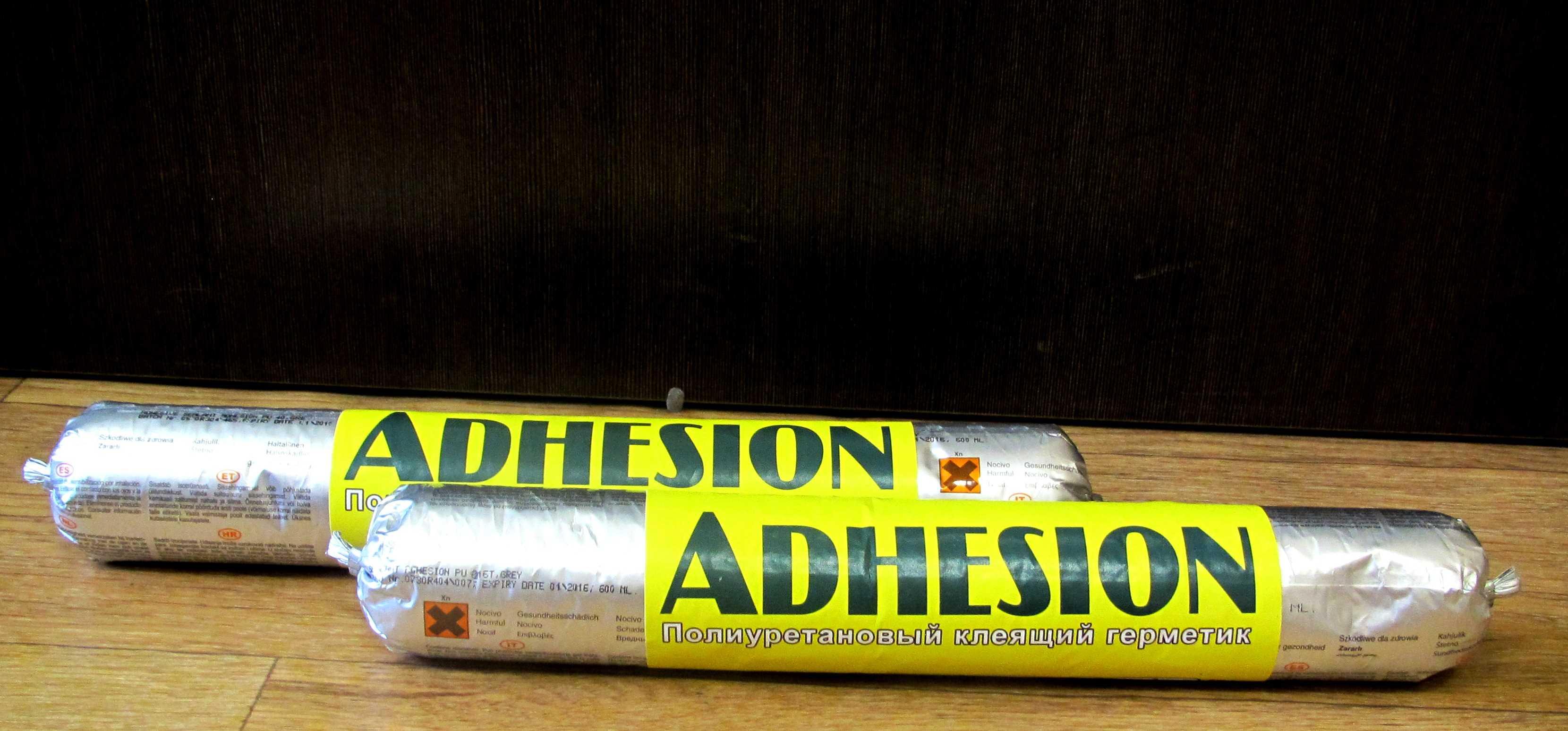 Герметик ADHESION PU816Т полиуретановый маслобензостойкий 600 мл