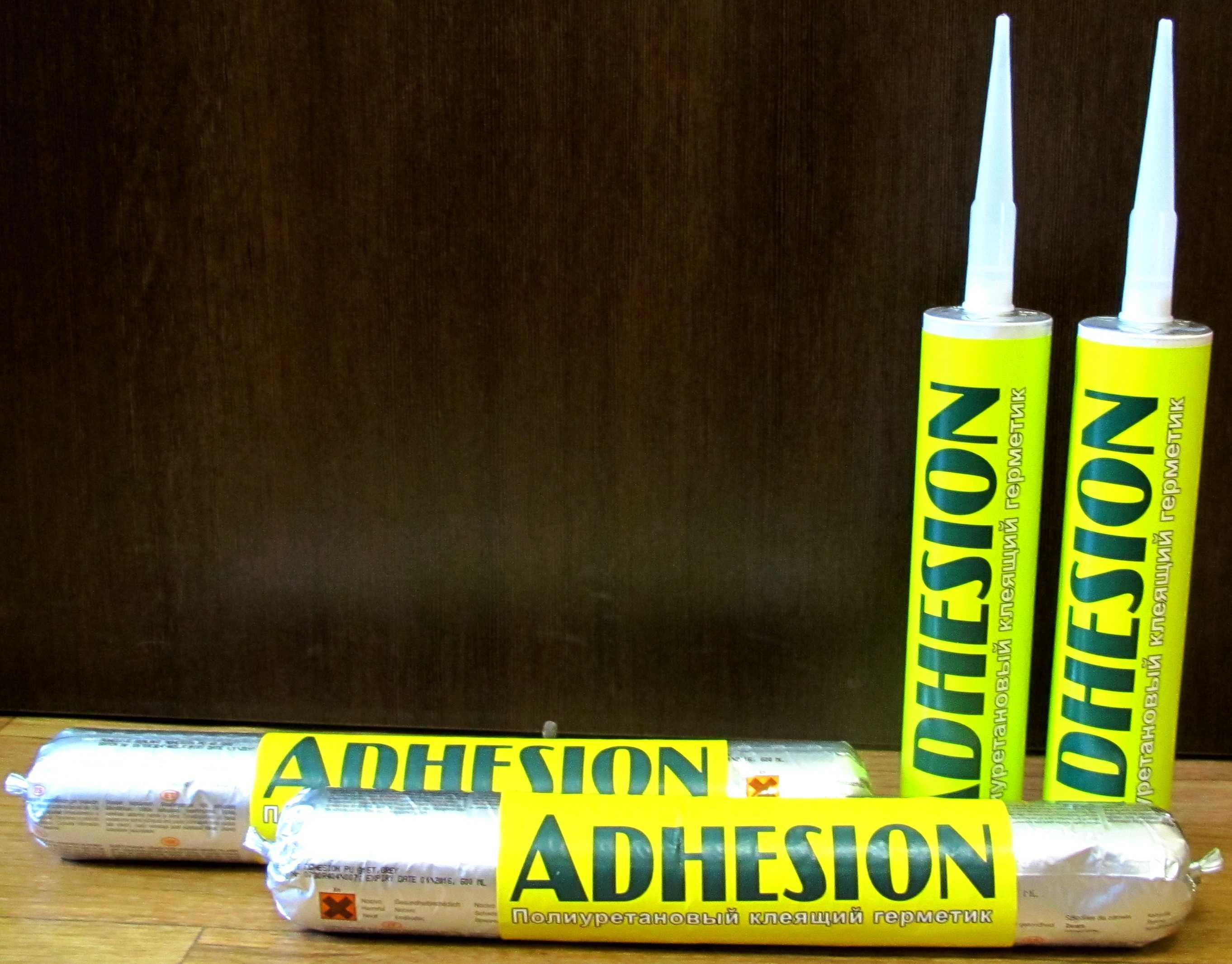 Герметик ADHESION PU40 клеящий полиуретановый 310 мл