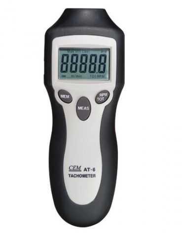 Фототахометр (тахометр) AT-6 цифровой лазерный