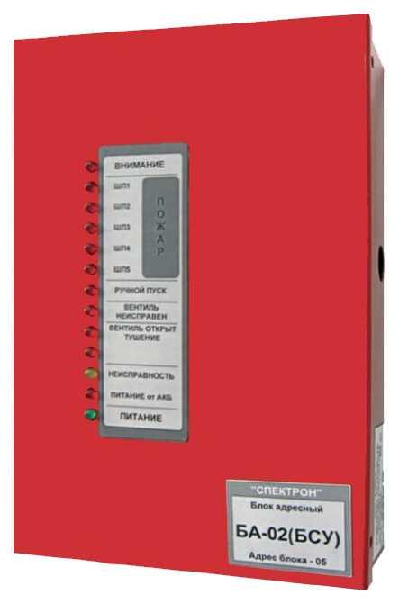 Блок управления и сигналазации БА-02(БСУ)