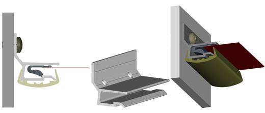 Профиль для натяжных потолков «Элеганс»