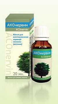 АКОнервин капли гомеоп. в фл. 20мл (АконитФарма)