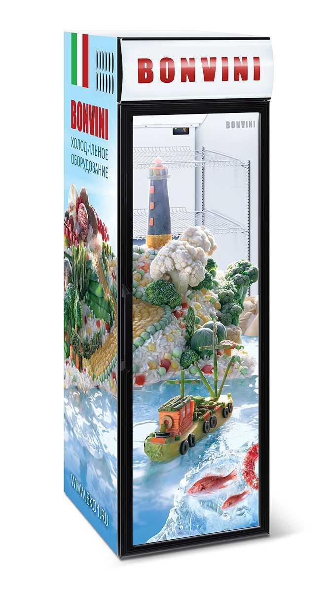 Холодильный шкаф BONVINI на 420 л. высота 1850