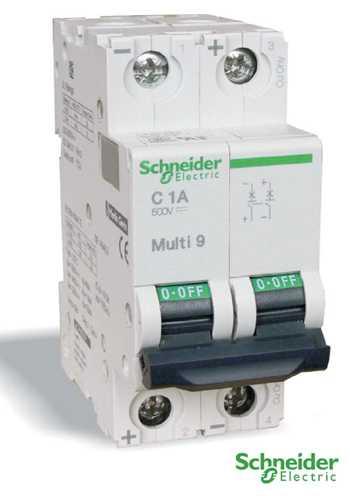 Автоматические выключатели на постоянный ток C60H-DC
