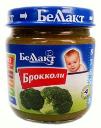 Овощное пюре Беллакт. Брокколи