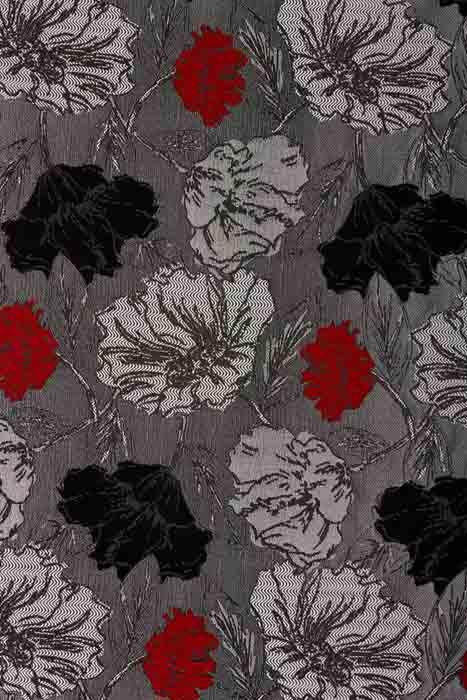 Мебельная ткань шенилл Flowers Maki