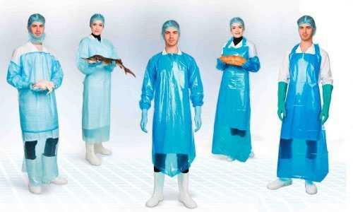 Одноразовая одежда для пищевых производств!