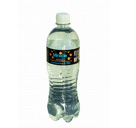 Новинка в мире питьевой воды - негазированная Miracle, обогащенная янтарной кислотой, не имеет аналогов в РБ