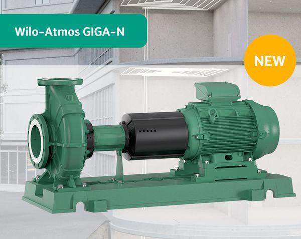 Насос нового поколения для универсального применения Wilo-Atmos GIGA-N