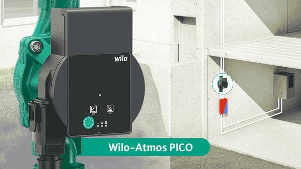 Новый высокоэффективный насос Wilo-Atmos PICO