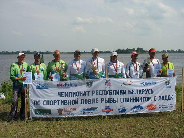 ОДО КАМИСА - постоянный спонсор чемпионатов Республики Беларусь по ловле спиннингом с лодок