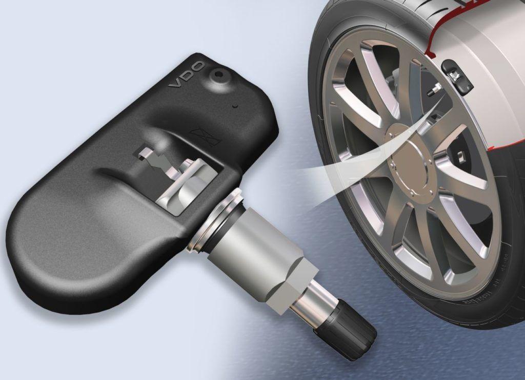 Замена датчиков давления в шинах.