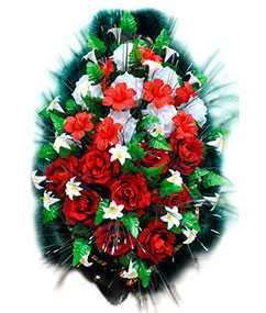 Изготовление ритуальных венков из искусственных цветов