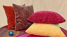 Пошив декоративных наволочек для подушек