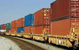 Перевозка грузов международным контейнерным поездом ВИКИНГ