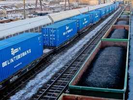 Перевозка грузов международным контейнерным поездом ZUBR