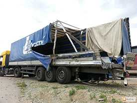 Ремонт тентов для грузовой техники
